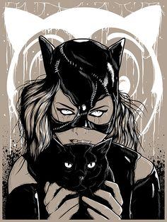 I am Catwoman, hear me roar by J-Monster Art Batwoman, Nightwing, Catwoman Comic, Batman And Catwoman, Batman Art, Gotham Joker, Joker Arkham, Dc Comics, Comic Books Art