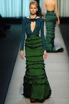 Rochas Fall 2005 Ready-to-Wear Fashion Show - Lily Donaldson