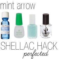 DIY Shellac Hack – 3 Steps to Thrifty Shellac-Type Nails