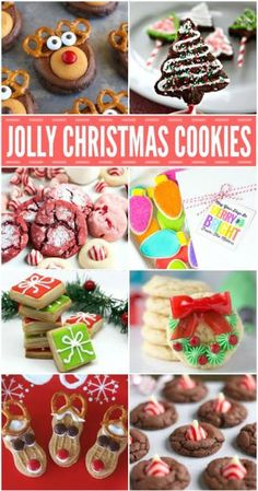 Looking for some Christmas cookie recipes ideas to help start the holiday season? Here are some of our favorite Christmas cookie recipes that you won't want to miss!