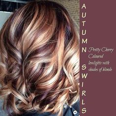 This is just gorgeous for fall! #fall #hair