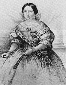Isabel Maria of Portugal (1801 - 1876). Daughter of Joao VI and Charlotte of Spain.