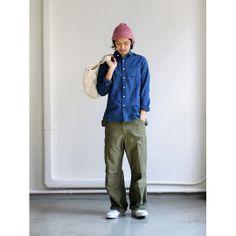 maillot sunset indigo small collar shirts (インディゴスモールカラー) MAS-022 商品詳細 Strato