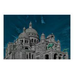 The famous #basilicas Sacre Cœur in #Paris