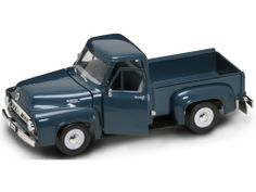 Yat Ming Scale 1:18 - 1953 Ford F-100 Pick Up Truck by Yat Ming. $28.99. From the Manufacturer                The latest and best diecast products to come out of the house of Yat Ming World Wide. All products in infinite detail and crafted by the best. The product features steerable wheels, opening doors, bonnet and tailgate. Includes product list booklet. Mint on a plastic display plinth in an excellent, slightly scuffed, presentation window box.                               ...
