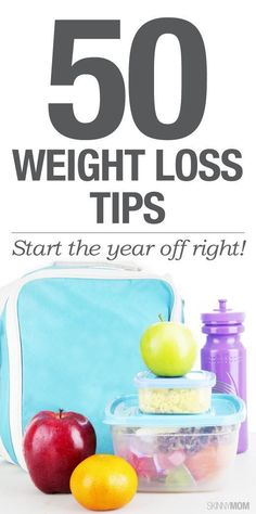 Useful weight loss tips.