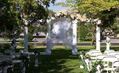 Garden Wedding Reception Decoration | 2013 Wedding Invitation