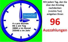 Quarterpaid ist eine neue 10-mal-Klicken-Plattform, die ähnlich wie andere bekannte Plattformen aufgebaut ist, aber noch einige Verbesserungen eingeführt hat. ===> http://geldverdienen-aktuell.blogspot.de/p/quarterpaid.html