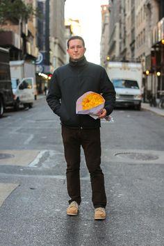 """Anniversary? Birthday?  """"Just because.""""  -Humans of New York"""