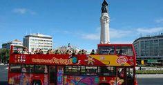 Ingressos para o Ônibus Hop On Hop Off em Lisboa #viagem #lisboa #portugal
