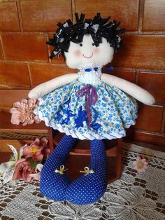 Boneca de pano °´  #bonecadepano #boneca #doll