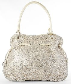 (Corporate Example) Lace & Sequin Overlay Purse