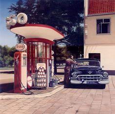 """""""Esso Station, Cadillac' 51"""""""