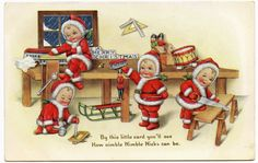 ilustraciones navideñas antiguas - Buscar con Google