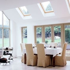 Double-height conservatory | Conservatory dining ideas - 10 of the best | housetohome.co.uk