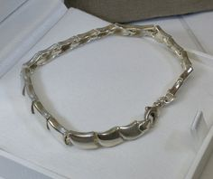 Vintage Armschmuck - Armband Gliederarmband 60er Jahre Silber 925 SA300 - ein Designerstück von Atelier-Regina bei DaWanda