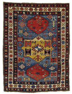 Caucasian Shirvan rug, early 20th c