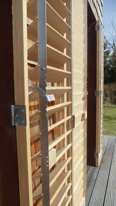 #Holzklappläden #Lamellenladen #verstellbarelamellen #STUDIOLIVIUS