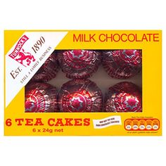 Tunnock's Milk Chocolate Tea Cakes 6x 24g
