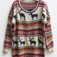 reindeer sweater #winter