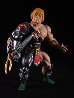 Snake Armor HE-MAN Vintage (Masters of the Universe) Custom Action Figure