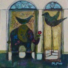 The forgotten Studio: Morag Muir Scottish artist. Art Journal Inspiration, Design Inspiration, Illustration Art, Paintings, Studio, Gallery, Artist, Prints, Image
