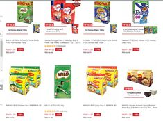 Beli produk nestle dengan harga yang murah dari pasaraya