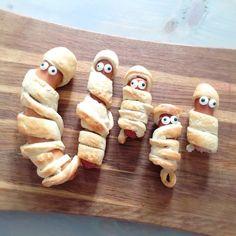 Mumie pølsehorn   Sjove snacks til Halloween festen 🎃