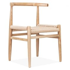 Danish Designs Nordic Chair With Weave Seat – Natural Danish Designs Nordic Chair With Wicker Seat – Natural Hans Wegner, Recycled Furniture, New Furniture, Furniture Design, Rustic Furniture, Furniture Ideas, Outdoor Furniture, Woven Dining Chairs, Dining Room