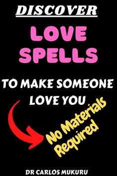 """""""Love is Magic"""" Love energy is very strong. This is because when two people love each other genuinely, strong emotions and energies are produced. If Love is lost, you lose much in life both psychological and physical. Here is how you can turn it around with Love Spells that works with no materials required. #BlackMagic, #LoveSpells, #LoveSpellsthatwork, #moneyspells, #protectionspell, #Psychic, #relationship, #spellsofmagic, #VoodooSpells Love Me Again, Ex Love, Love Me More, Strong Love, Still Love You, Love Can, Love Spell Chant, Cast A Love Spell, Love Spell That Work"""