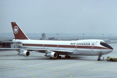 Air Canada Boeing 747-133 C-FTOE on a cloudy day at Frankfurt-Main, circa June 1979. (Photo: Courtesy of Diddi)
