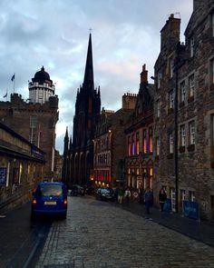 #travel #Europe #Scotland #royalmile #edinburgh by destineegrimmett