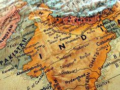 #map #india #culture #border