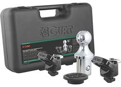 Curt Manufacturing Cur60618 Ram Gooseneck Ball And Safety Chain Anchor Kit