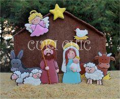 Impresionante portal de Belén realizado en galleta decorada. No os podéis perder ninguno de los dulces y galletas de este blog: ¡espectaculares!. ||CUKI CHIC Galletas decoradas
