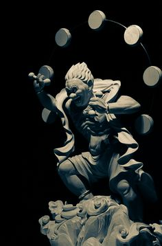 Japanese god of thunder -Raijin-