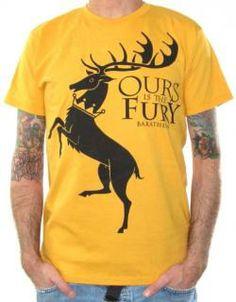 Game Of Thrones, T-Shirt, House Baratheon $16.18