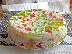 """""""Tort Sticla sparta""""! Simplu, rapid, un tort plin de culoare si savoare, preparat fără coacere - Floare de tei"""
