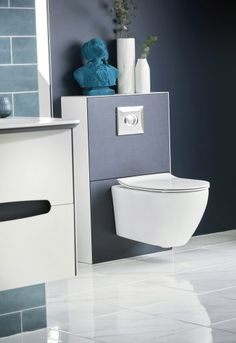 We've praised another design feature too, many times over. It's the wall-hung WC concept.