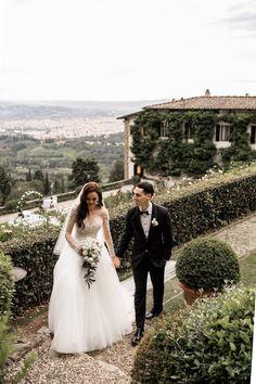 Vogue-Inspired Fairytale Italian Wedding on Karas Party Ideas | KarasPartyIdeas.com (11)