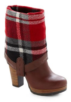 cuff down for a more utilitarian/masculine look...cuff up for the perfect stacked heel brown boot. simply in love with these.