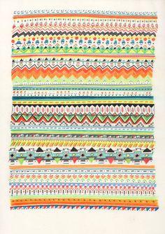 Patterns | TUKOTA - Sandra Dieckmann | Illustration