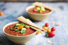 Veggie Galore Gazpacho - Serve up as an appetiser before a summer BBQ or as a quick grab n' go lunch for one of our 30+ degree days.