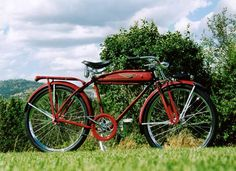 I just love these old bikes.