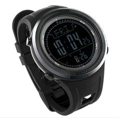 Cheap watch quality, Buy Quality sport clock directly from China sport sport Suppliers: SUNROAD Digital Outdoor Men Watch- Waterproof Altimeter Barometer Compass pedometer Sports Clock High Quality Blue Watches Digital Sports Watch, Digital Wrist Watch, Mens Sport Watches, Watches For Men, Men's Watches, Outdoor Men, Waterproof Watch, Sport Man, Watch Sale