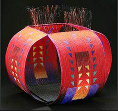 """""""Concerto"""" - Jeanette Ahlgren (woven glass beads)"""
