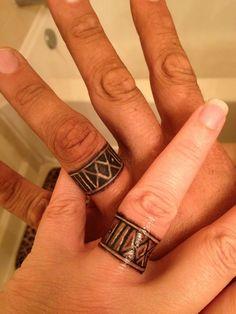Wedding band tattoos custom from Rosario Tattoos in Tampa FL