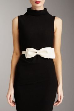 A bow just adds a touch of femininity and class