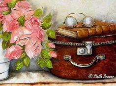 Billedresultat for stella bruwer Stella Art, South African Artists, Still Life Oil Painting, Pintura Country, Egyptian Art, Illustration Sketches, Flower Art, Painting & Drawing, Amazing Art