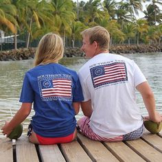His + Hers  #freedomrocks #southerntide : @keyoung15